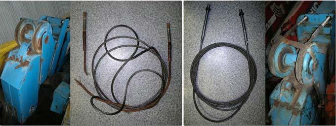 Изготовление и замена тросов выдвижения стрелы
